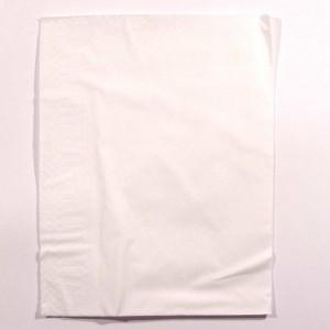 Serviette blanche 30x30 cm 2 feuilles