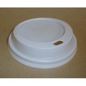 Couvercle blancspour gobelets carton 25 cl