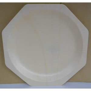 Assiettes en bois de 26 cm