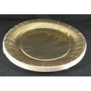 Assiette 23 cm chartreuse carrée vrac 50 et 100